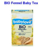 Organique Fenouil BABY TEA 20 Sacs, Arrête de coliques, libre-sucre et Arôme, Ma...