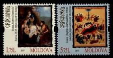 Weihnachten 2018. Christi Geburt, Ikonen. 2W. Moldawien 2017