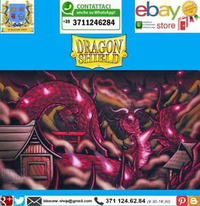 TAPPETINO Magenta PLAY MAT PLAYMAT Dragon Shield Demato Limited Edition Carte 🤩