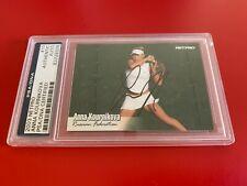 Anna Kournikova Sexy Tennis 2003 Netpro Card Signed Auto PSA/DNA ENCAPSULATED
