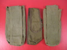 post-Vietnam Era US Army Carry Case or Cover for Hand Held Radios - Lot of three