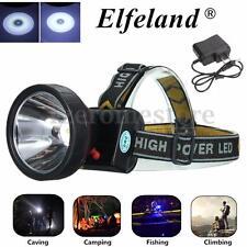 Elfeland 30000Lm LED Light Rechargeable Headlight Headlamp Head Torch Camping