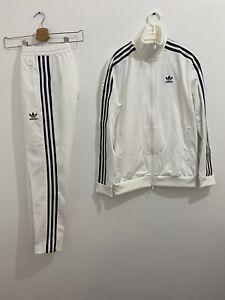 Adidas Originals Beckenbauer Tracksuit White Black Size S