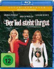 DER TOD STEHT IHR GUT (Meryl Streep, Bruce Willis) Blu-ray Disc NEU+OVP