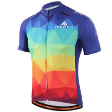Uriah Mens Cycling Clothing Reflective Racing Bike Jersey Cycling Shirts S-3XL
