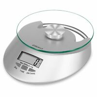 Helect Kitchen Scale 11lb/5kg Multifunction Food Scale with Tare Function