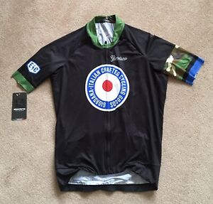 """Giordana Target Camouflage Men's 40"""" Large S/S Cycling Jersey Ref:CFBB"""
