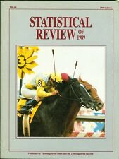 Statistical Review of 1989 - Thoroughbred Times and the Thoroghbred Record