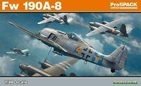Eduard 1/48 scale  Model Kit 82147 Focke-Wulf Fw-190A-8 Profipack  EDK82147