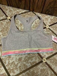 justice bralette Size 34 for girls brand new