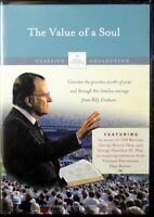 The Value of a Soul Billy Graham Library Christian DVD Classic Sermon from 1986