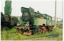 Poland; Steam Loco TKt 48 77 At Gniezno Shed, 5-6-04 PC Size Photo