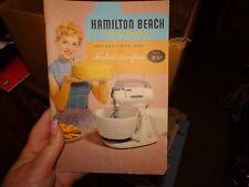 Hamilton Beach Food Mixer Instructions and Recipes Form 1210