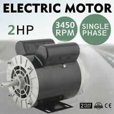 "2 HP SPL Compressor Duty Electric Motor 3450RPM 56Frame 5/8"" Shaft 115/230 VOLT."