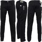 Replay Slim Fit - Anbass - Black Jean M914-098 - Waist 30 32 34 36