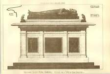 1900 Design For A Tomb By Henry Bannister