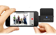 IK Multimedia iRig Stereo Field Mic- For iOS- Perfect for Music Videos
