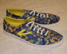 Boast Tretorn Men's Nylite Blue Pot or Maple Leaf 'Camo-Leaf' Sneaker Sz 10/44½