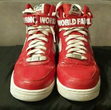 Nike Air Force 1 High  Supreme World Famouse Red  Size Mens US 8.5