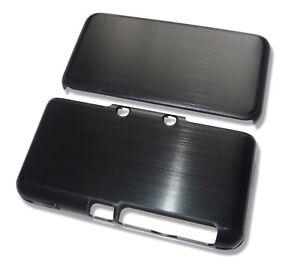 Nintendo 2DS XL 2DSXL Black Aluminium Metal Case Cover Shell Housing UK