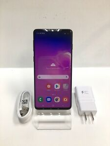 Samsung Galaxy S10 SM-G973U - 128GB - Prism Black (Boost Mobile ONLY) Read
