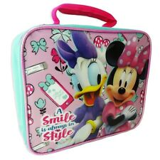 Disney Minnie Mouse Rectangular Lunch Bag Girl
