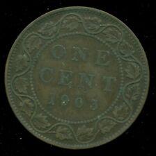 1903 Canada Large Cent King Edward VII   R179