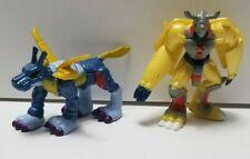 Digimon Metalgarurumon Wargreymon lot Mini Figure toy H-T Bandai figures
