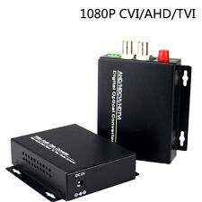 1080P HD CVI AHD TVI CCTV 2 CH Video Fiber Optical Media Converter,FC SM 20Km