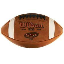 Wilson Gst Leather Game Ball Youth Size Top of the Line Game Ball Like Ncaa