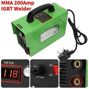 ARC MMA-200Amp DC IGBT Inverter Welder 20-200Amp Portable Electric Welding 220V