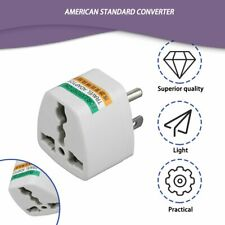 AU UK EU to US AC Power Plug Adapter Adaptor Converter Outlet Home Travel Wall Z