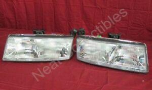 NOS OEM Chevrolet Lumina Z-34 Headlight Head Lamp Assembly 1990 - 94 PAIR