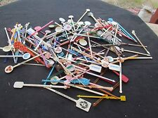 lot of swizzle sticks 130+ hotels,airlines,casinos,,cruise ship usa foreign