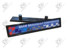 BMW E36 M3 MOTORSPORT INTERNATIONAL BLUE EDITION DOOR MOULDING BADGES LTE RESIN