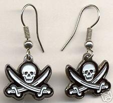 Pirate Flag Earrings John Rackam (Calico Jack)