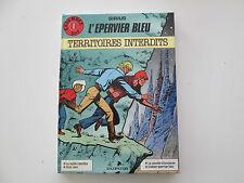 L'EPERVIER BLEU EO1986 INTEGRALE TBE/TTBE TERRITOIRES INTERDITS SIRIUS