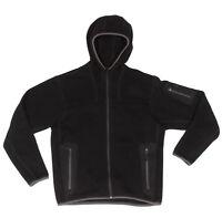 ARC'TERYX Black Fleece Polartec Mens Zip Front Hooded Jacket size Small