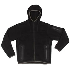 ARC'TERYX Black Fleece Polartec Mens Zip Front Hooded Jacket size Small