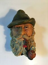 Vintage Estate Hand Painted Bossons Head - Tyrolean #83 - Made in England