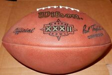 Super Bowl 32 XXXII 1998 Wilson Official Game Football  Broncos vs Packers