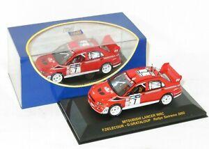 1/43 Mitsubishi Lancer WRC  Ralliart Rally Sanremo 2002  F.Delecour/D.Grataloup