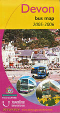 Devon Bus Map 2005-2006 Stagecoach First Western Greyhound Plymouth Exeter VGC