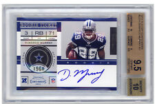 DEMARCO MURRAY BGS 9.5/10 Auto 2011 Panini Contenders Autograph Rookie Ticket RC