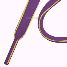 Mr Lacy Slimmies Shoe Laces Purple/Yellow