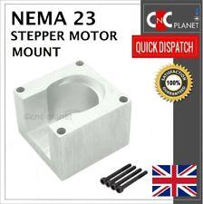 Nema 23 Stepper Motor Mount 57mm Aluminum Bracket + Screw base CNC UK FAST