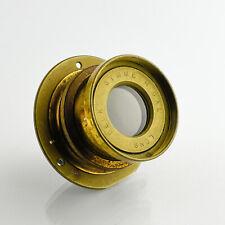 Beck Symmetrical Brass Barrel Lens