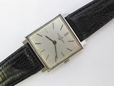 ULYSSE NARDIN square vintage manual wind gent's wrist watch (excellent+ cond)
