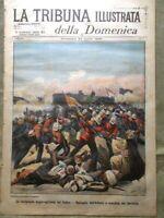 La Tribuna Illustrata 24 Aprile 1898 Battaglia Atbara Stati Uniti Spagna Parenzo