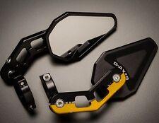 SV650 SV1000 Bandit GSXR 600 750 Driven D-Axis Bar End Mirrors Billet Aluminum